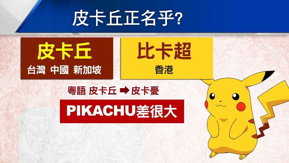 香港民眾上街頭 竟是為了...皮卡丘!