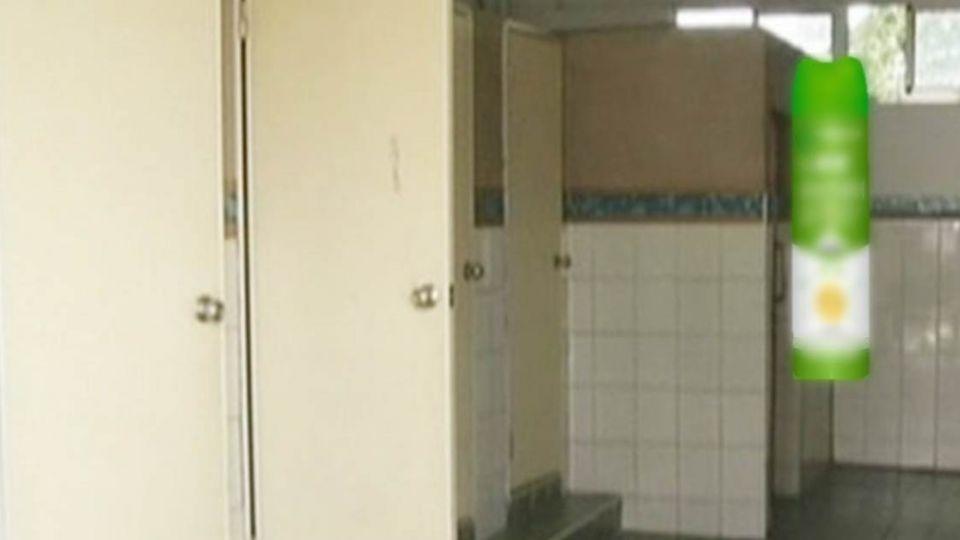 國一生肚子痛 老師竟叫學生拿殺蟲劑「燻」出廁