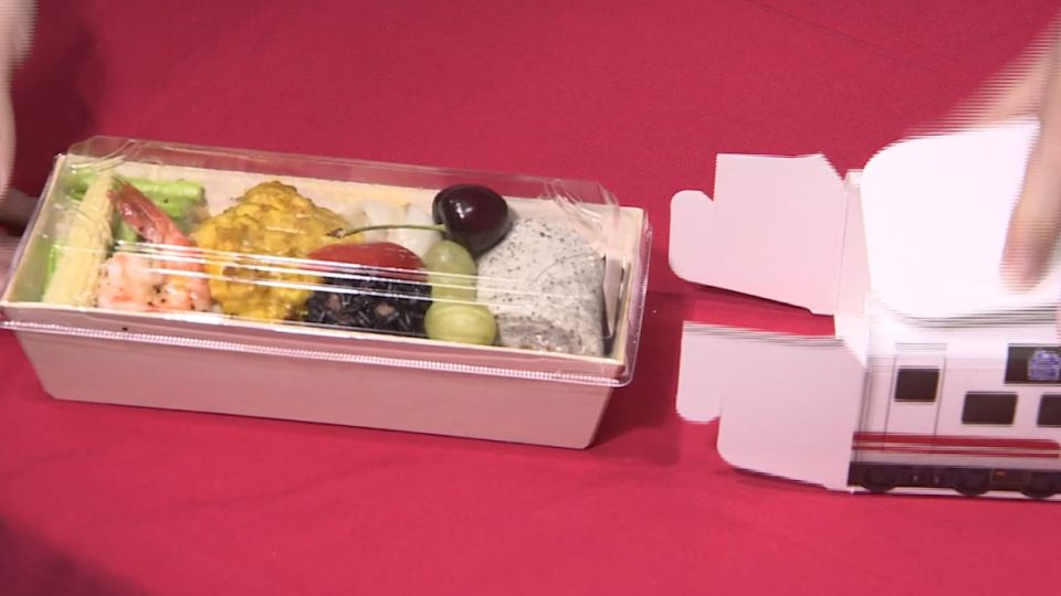 台鐵129年慶! 推「普悠瑪便當」 紅藜當主食
