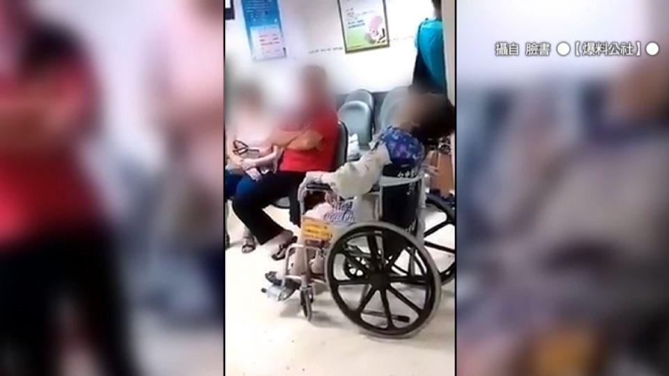 久病床前無孝子? 婦人坐輪椅看病 家屬疑態度差