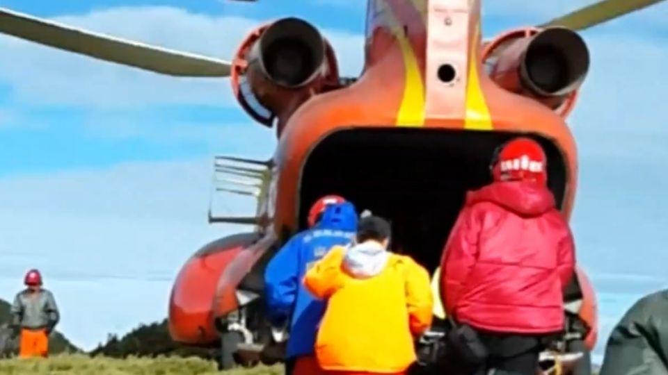登山「腳破皮」通報直升機救援 20萬全民買單