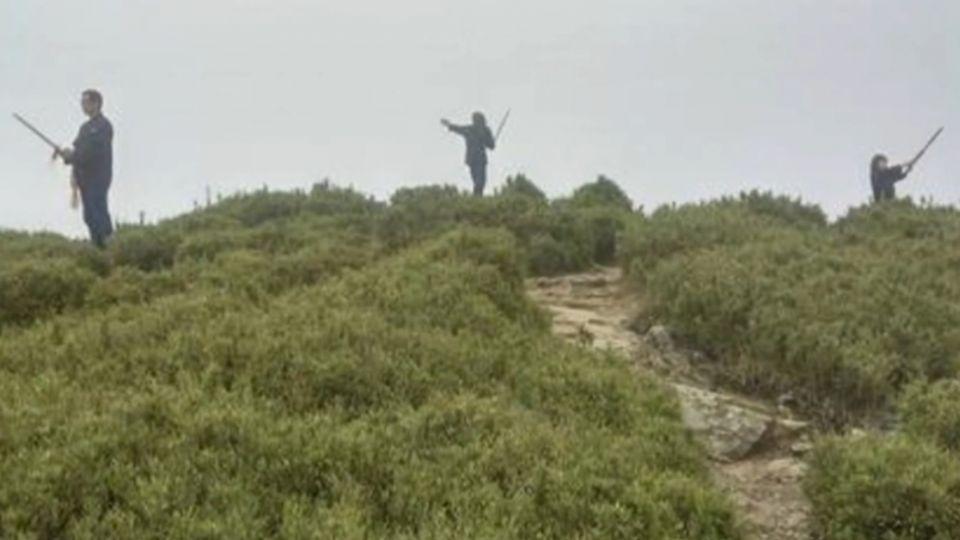 「火雲邪神」登合歡山 霸氣揮舞木劍作法