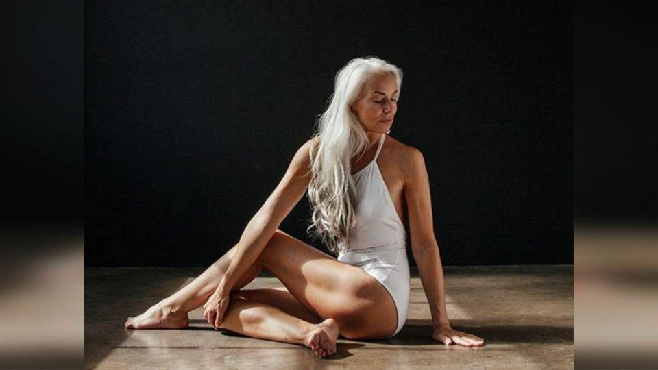 60歲祖母級模特兒 跨越年齡活出自信美