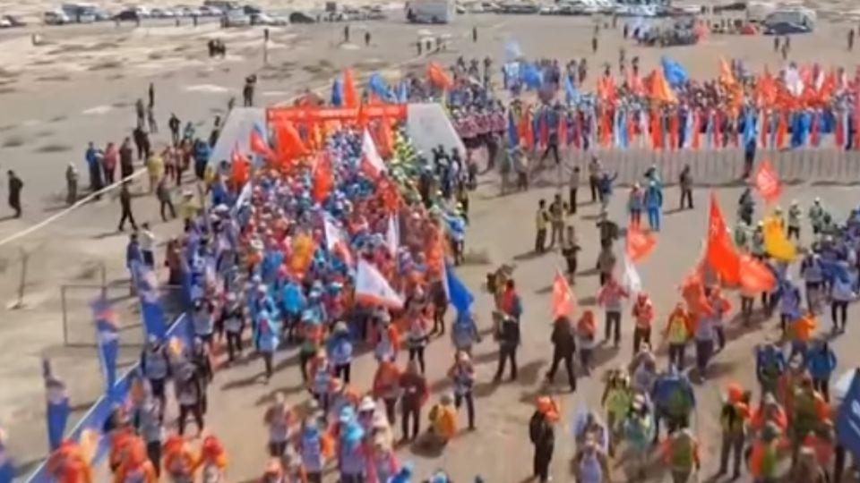我「政」在戈壁上!EMBA跨海挑戰「超級路跑」