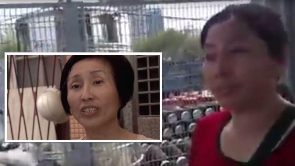 【影片】洪素珠有「剋星」 影片中女子讓她「跳針」