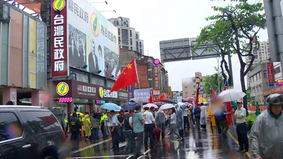 抗議台灣民政府 疑不滿公民記者爆追打
