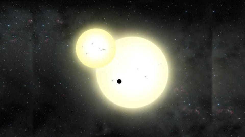 【影片】新發現!系外最大「環雙星行星」 人類似乎能居住