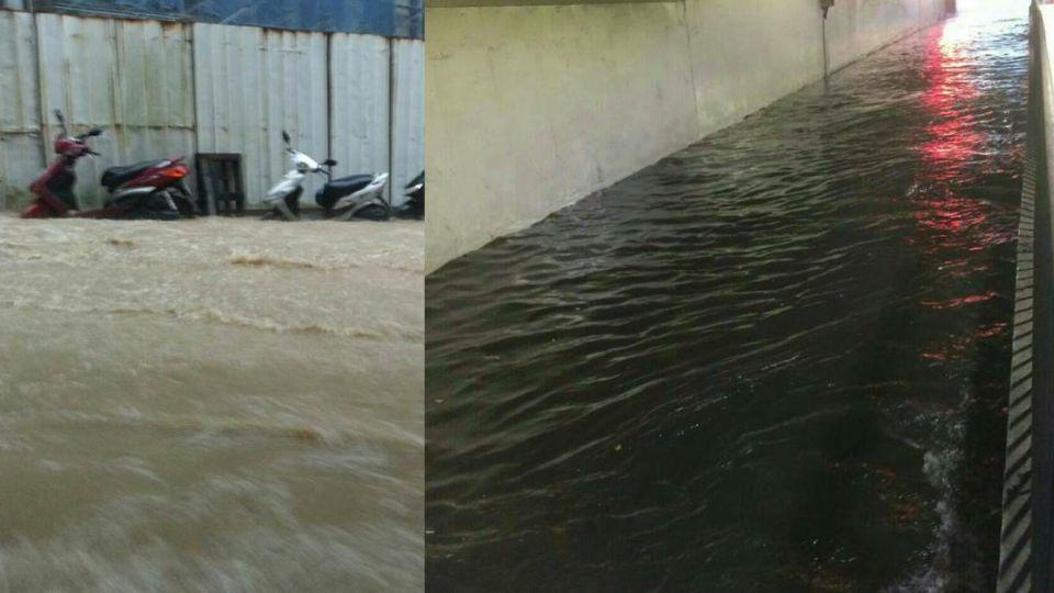 「大雨」突襲北台灣 雙北基隆淹水路段看這裡