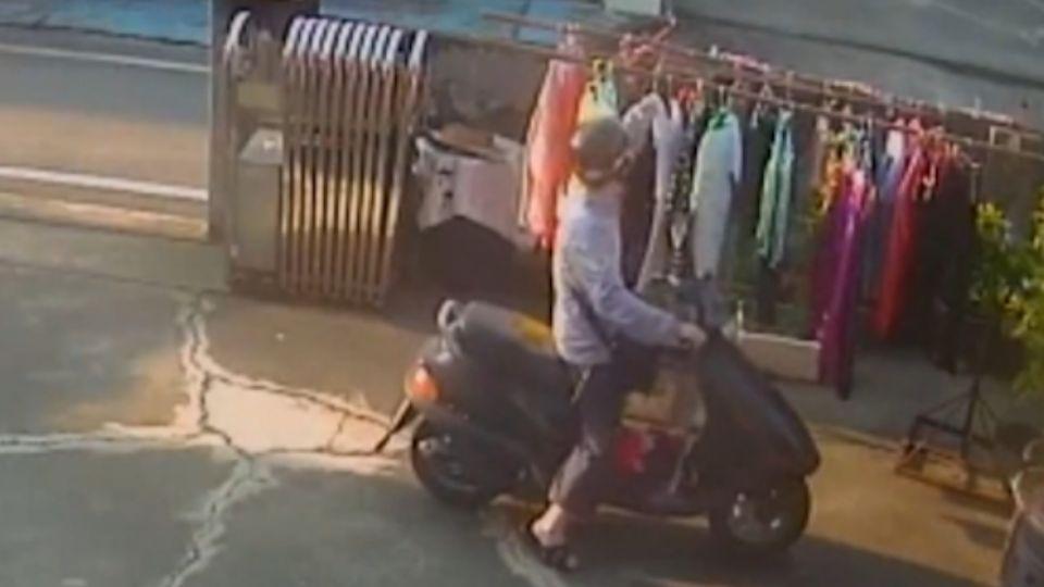 囂張賊騎車進庭院 專偷女性內衣褲