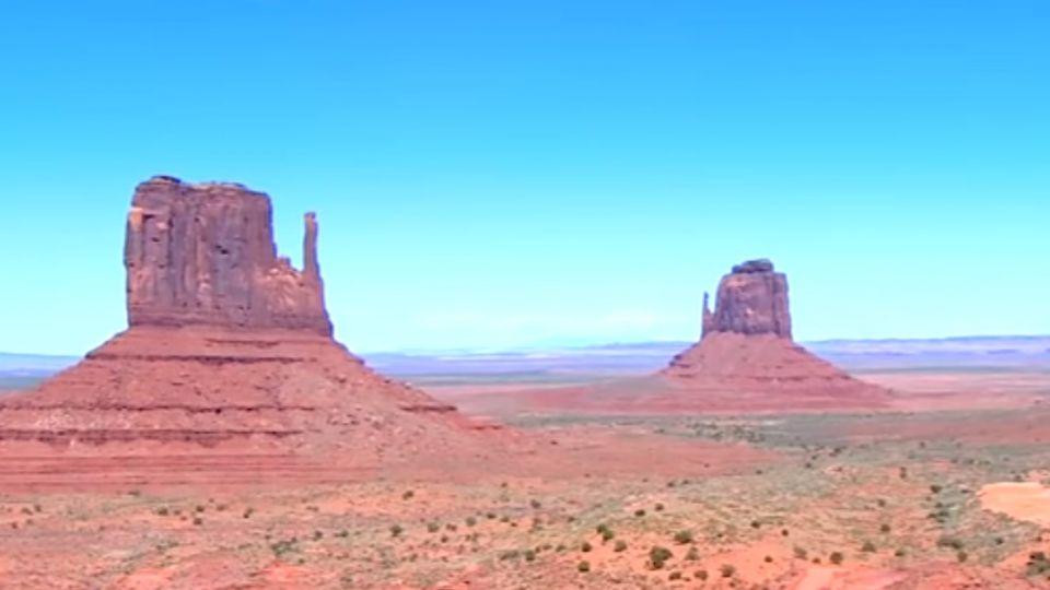 穿越紅色荒漠 走訪印第安保留區