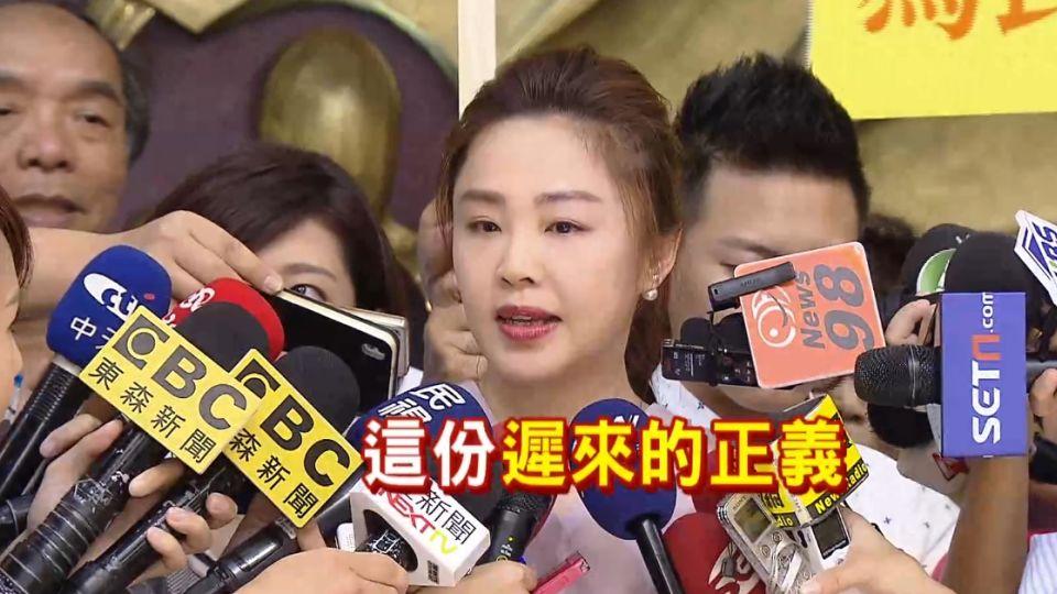 遞補議員重返政壇 李婉鈺走出情傷談「寬恕」