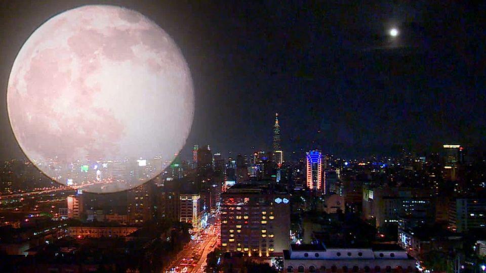 「草莓月亮」!夏至遇滿月 錯過等46年