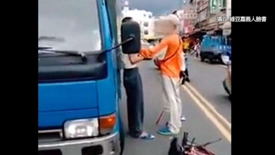 假車禍詐財?單車伯遭控「刻意」撞貨車 敲詐司機