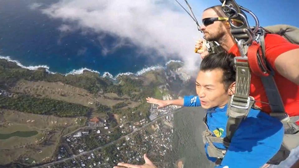「玩樂誌」遊關島 高空跳傘比玉山還高!