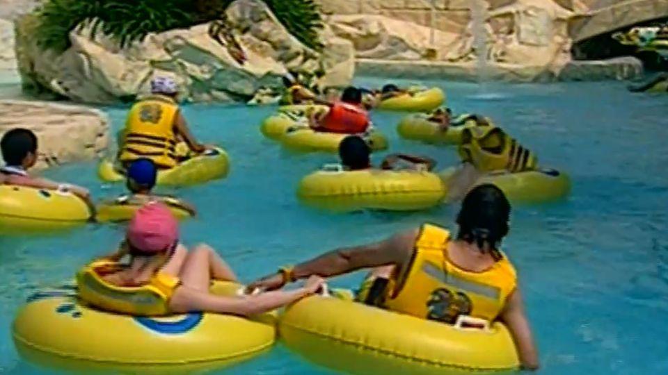 樂園玩漂漂河消暑 69歲翁不適跌池溺斃
