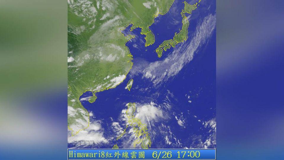 今年第1個颱風要來了?氣象局:不直接影響台灣