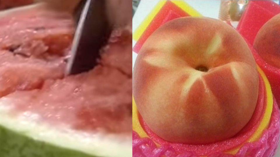 真的假的?手機簡訊瘋傳 「桃子西瓜一起吃恐喪命」
