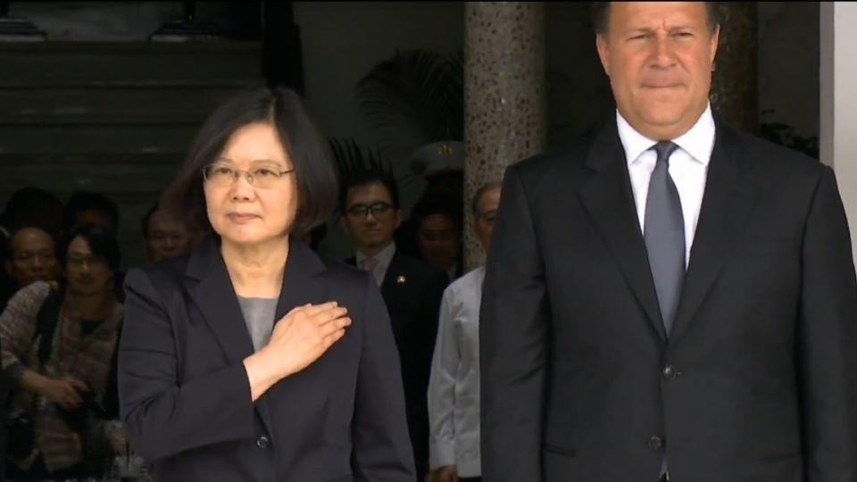 台巴雙邊會晤 蔡:盼巴拿馬助兩岸關係穩定發展