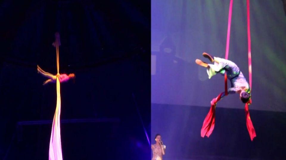 台中樂園表演意外 外籍女演員墜地3公尺