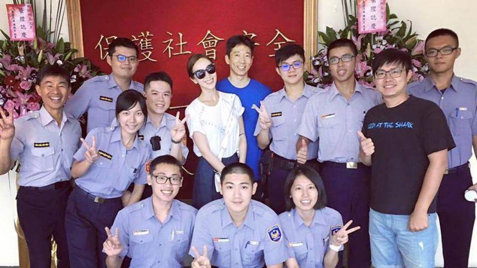 隋棠與夫為「這事」進警察局 老公讚:台灣警察不可思議