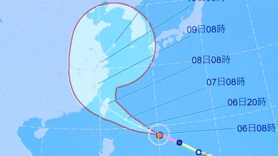尼伯特颱風結構紮實 外媒:如鋼砲傷害力大