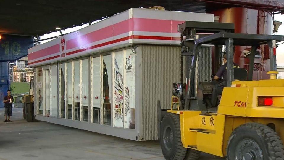 颱風來攤商撤 貨櫃屋4小時內清空