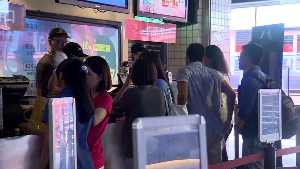 颱風來襲! 威秀、國賓、美麗華只營業到22:00