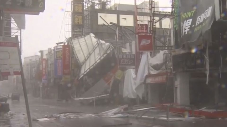 破台東百年強風紀錄!300人傷擠爆醫院