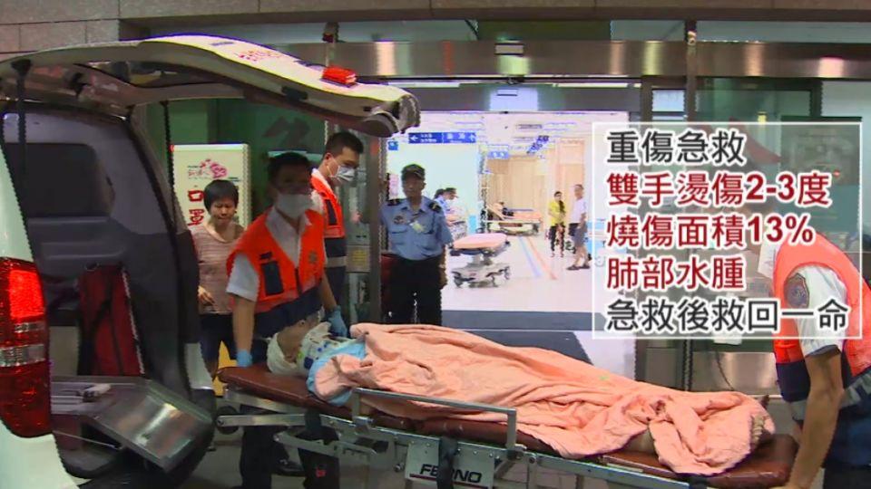 警力24小時輪班戒護 主嫌林英昌仍在加護病房
