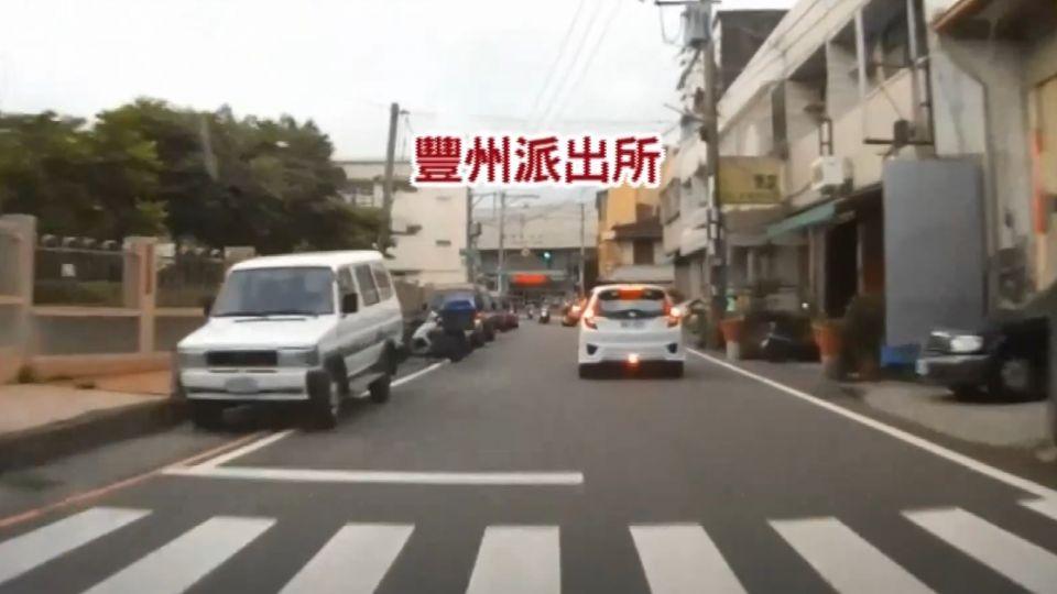 駕車狂飆10公里 路不熟開到警局自投羅網