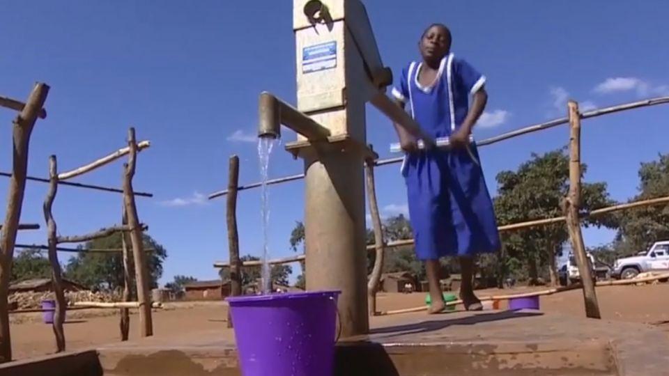 人和動物搶水 馬拉威「淨水」奇缺