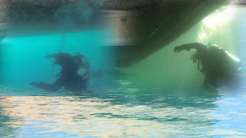 環太軍演秀潛水技術 加拿大加碼「核生化洗消」