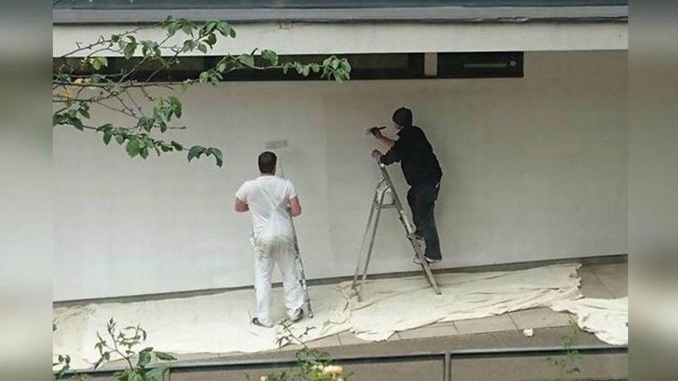 街友乞討!油漆工卻給他一把「刷子」劇情超展開