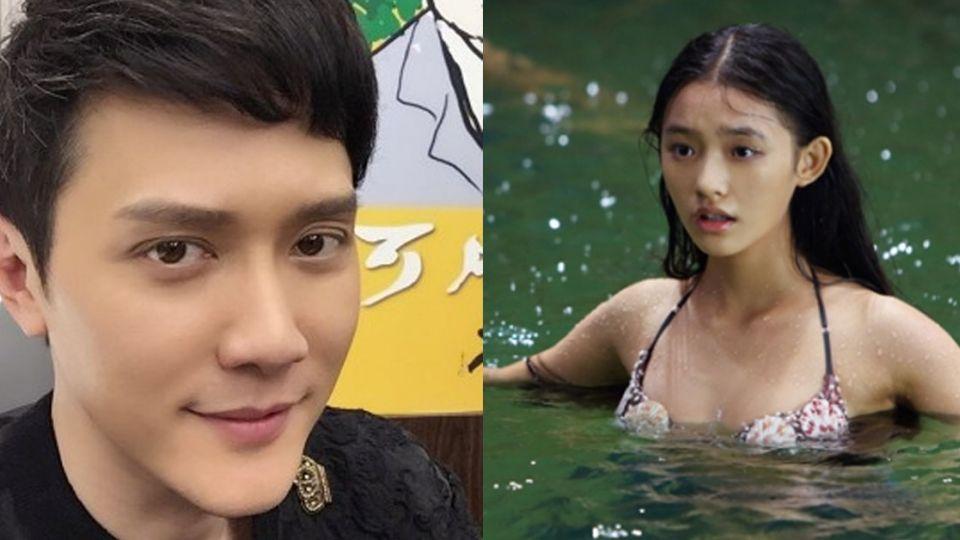 蘭陵王、美人魚同遊韓國 網友抓包:別躲了!