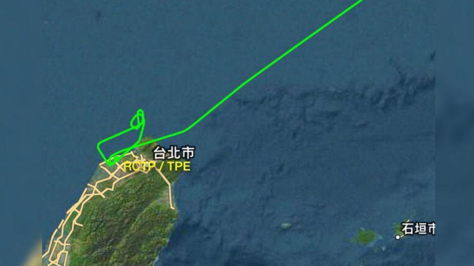 興航飛東京班機故障折返 傳一度在外海盤旋