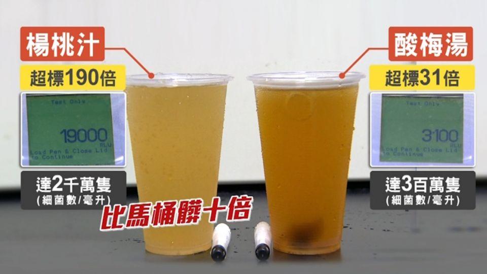 隔夜楊桃汁「菌超標190倍」 比馬桶髒十倍