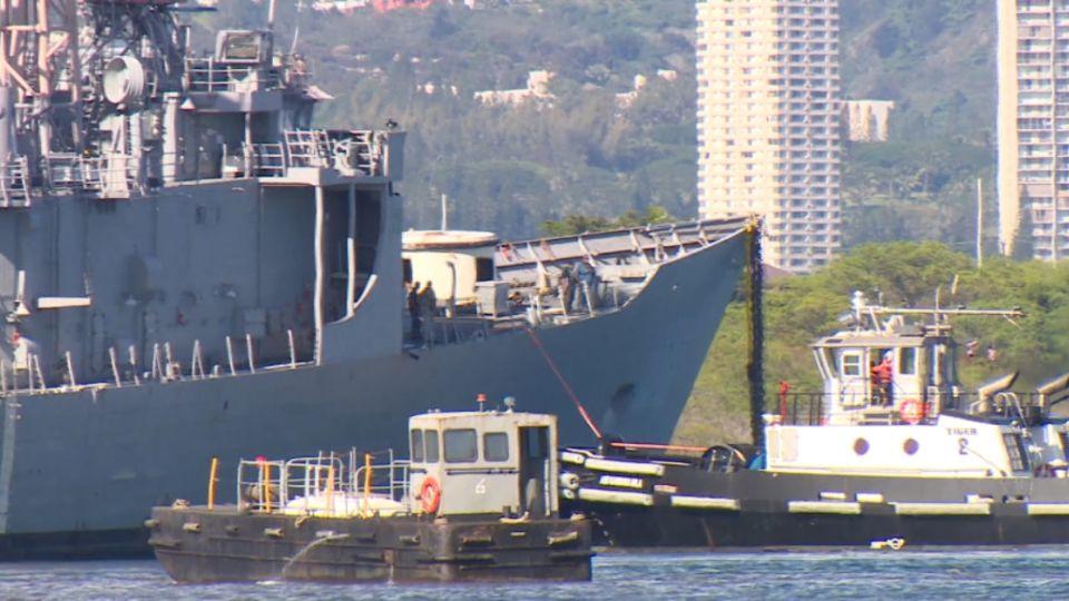 尷尬!我最新購入派里級軍艦 美軍當「靶船」