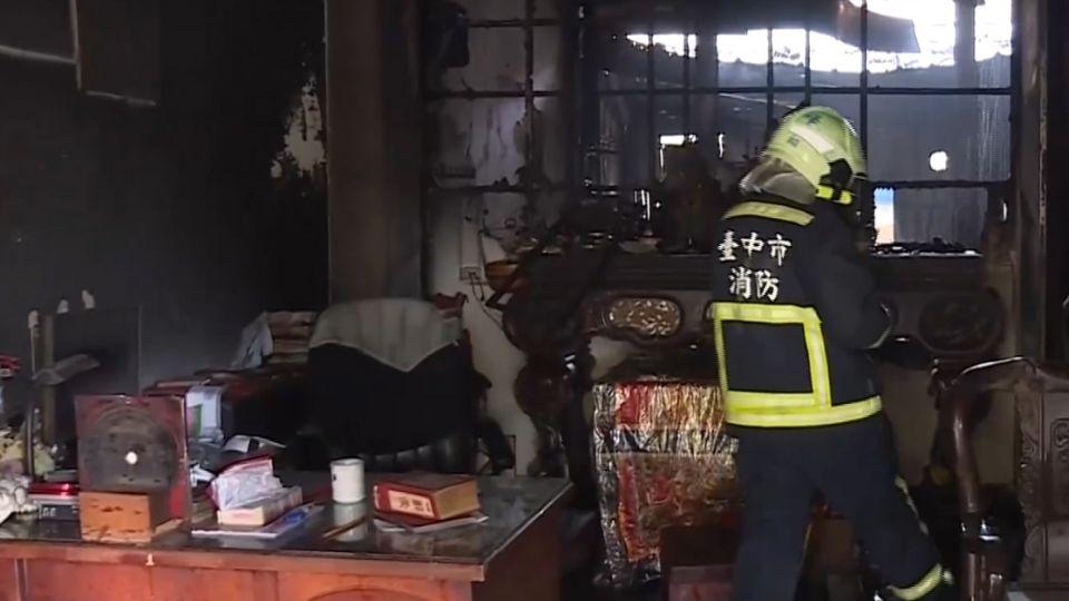 霧峰透天厝火警3死 9歲女童倖存急救