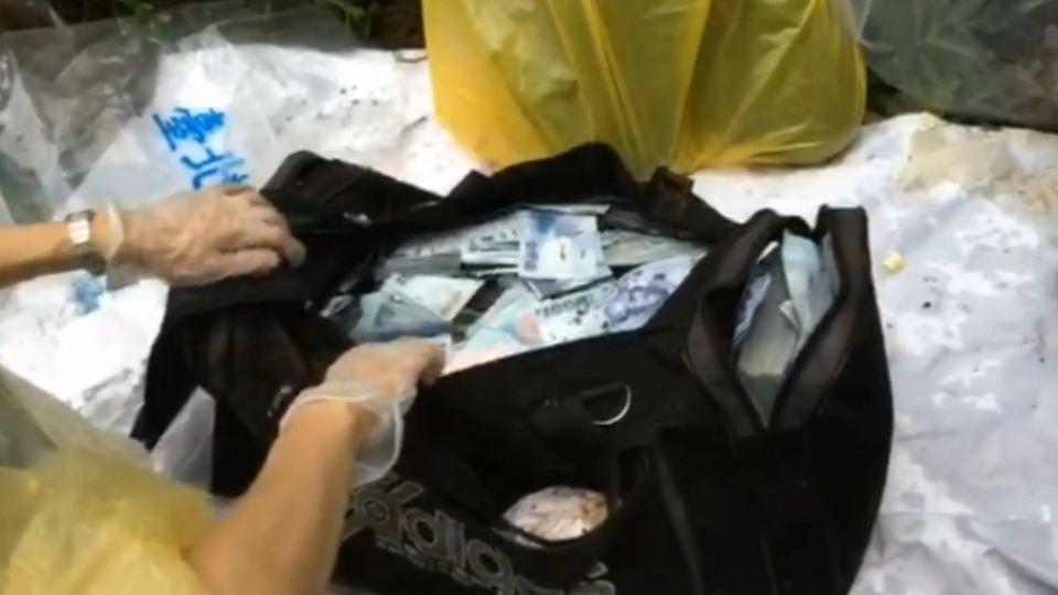 千萬贓款找到了! 安德魯竟藏身西湖公園垃圾堆
