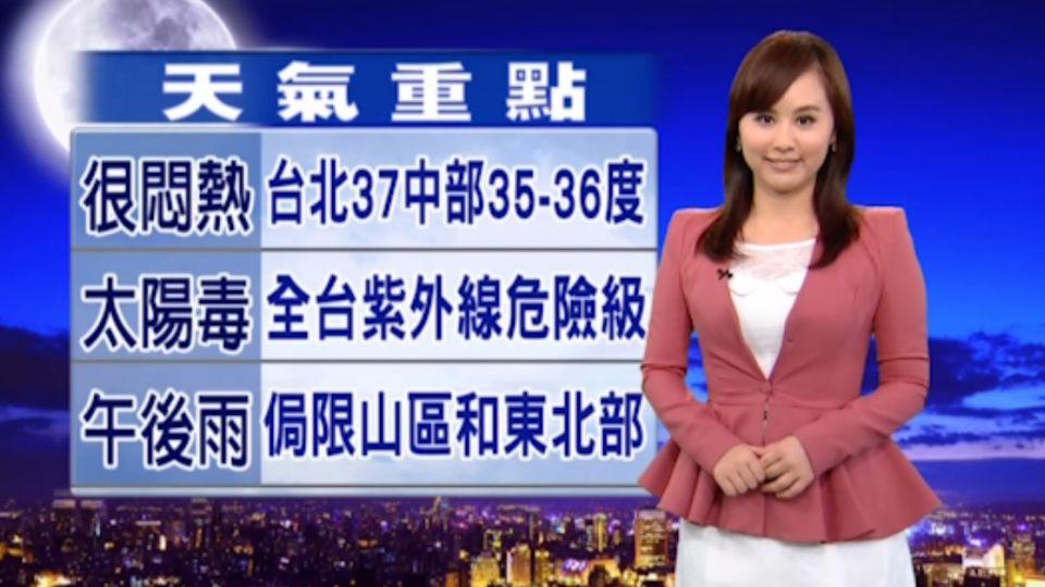 【2016/07/21】抗熱大作戰 今到下周二北部高溫37度