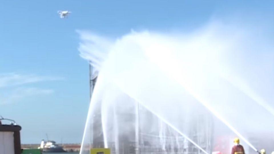 空拍機也能救援!「熱成像鏡頭」感測溫度