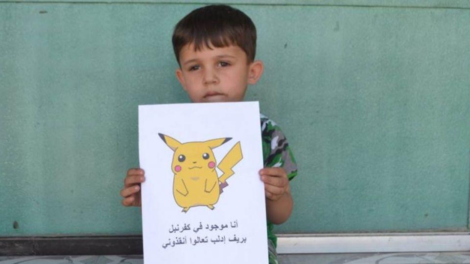 「我是精靈快來抓我!」敘利亞童悲歌 無助眼神盼救援