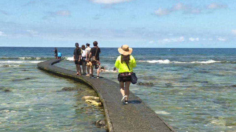 綠島觀光數掉五成 業者:災區已修復