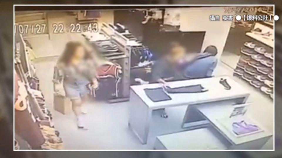 最壞身教!「衣服秒塞外套」母帶子偷購物中心
