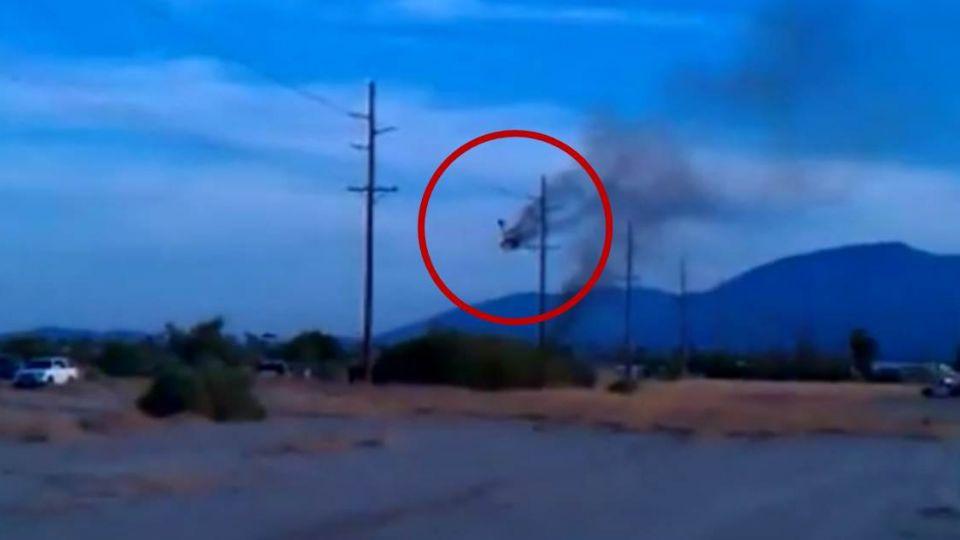 【影片】美國熱氣球空中燃燒墜毀 搭載16人全數罹難