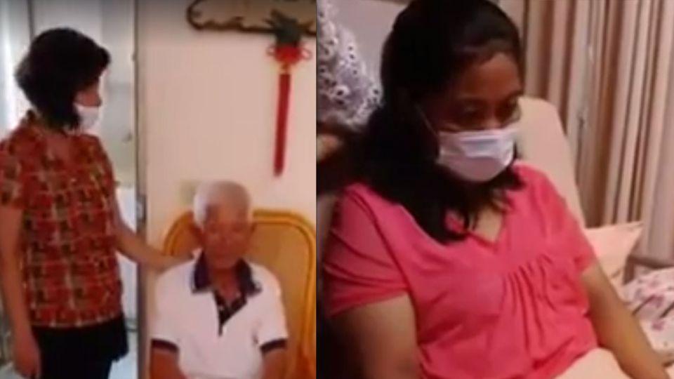 【影片】肚痛流血忽然「生了」印尼看護稱:不知道懷孕