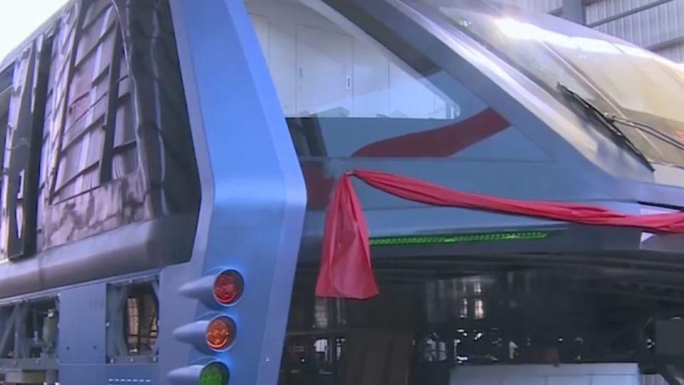 東森獨家試乘「巴鐵」 行動隧道汽車暢行?