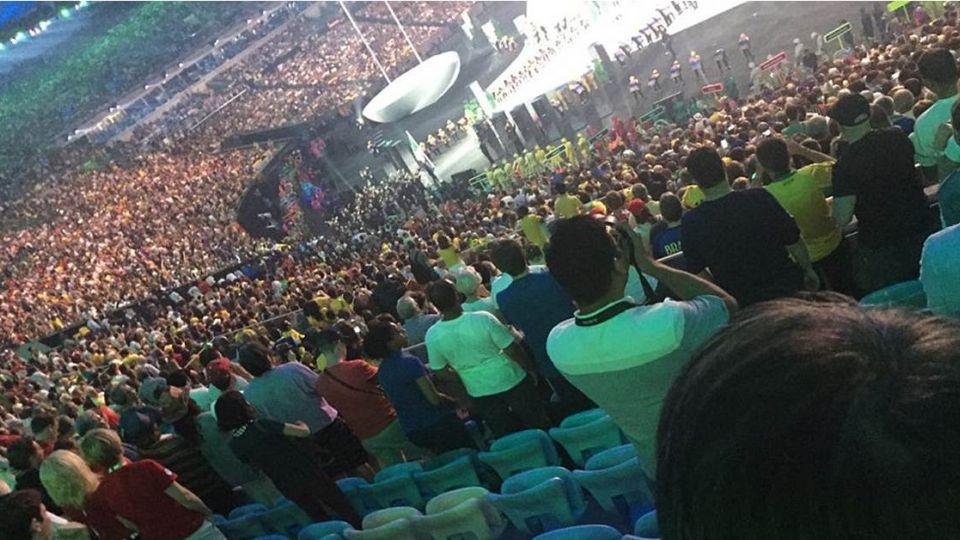 巴西里約奧運開幕!台灣排第184位進場