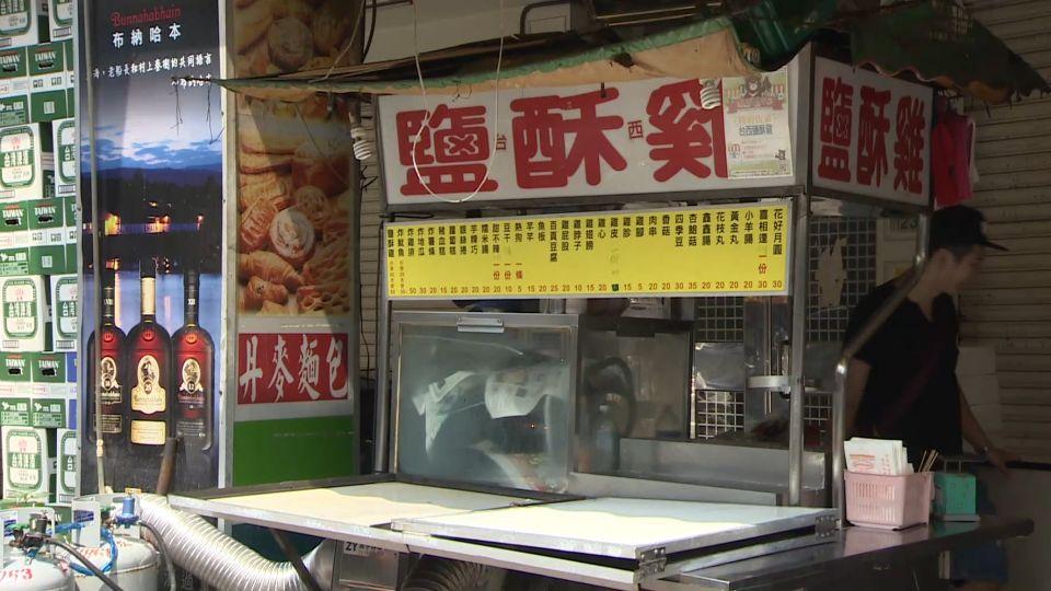 男偷鹽酥雞攤錢盒 店家損失5千多兒子的學費