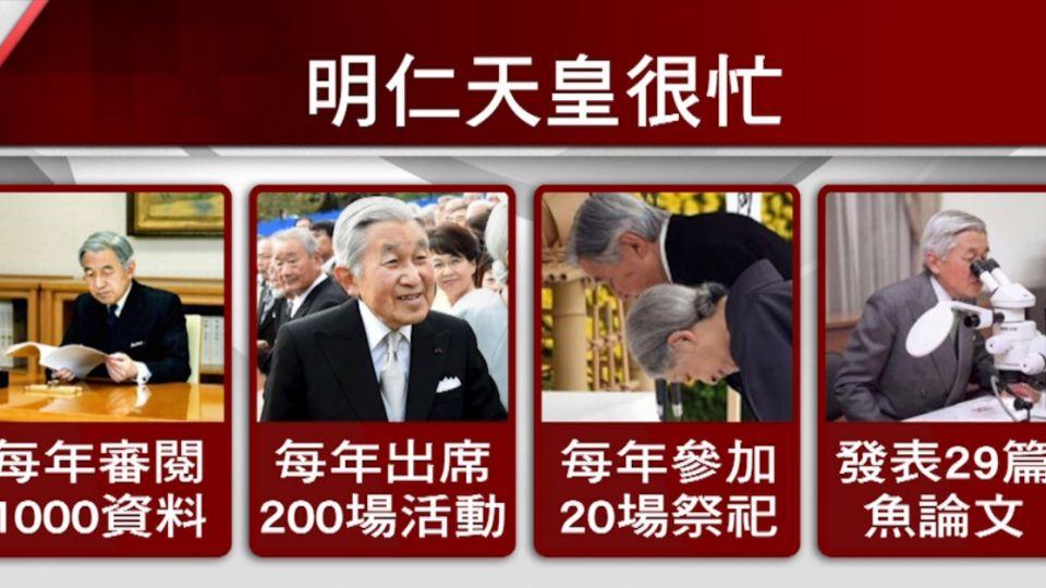 怕做不好公務! 82歲明仁天皇 演說爭「退休權」